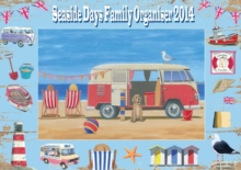 SEASIDE DAYS FAMILY ORGANISER, Spiral bound Book