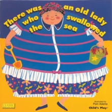 There Was an Old Lady Who Swallowed the Sea, Paperback Book