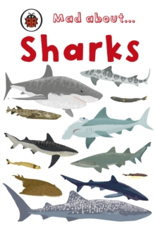 Mad About Sharks, Hardback Book