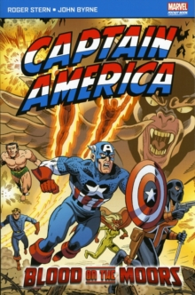 Captain America Blood on the Moors, Paperback Book