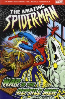 The Amazing Spider-Man: War of the Reptile Men, Paperback Book