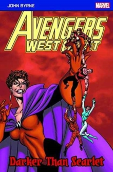 Avengers West Coast: Darker Than Scarlet, Paperback Book