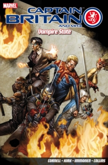 Captain Britain And Mi13: Vampire State, Paperback Book