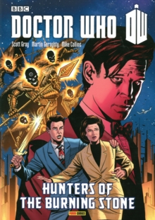 Doctor Who: Hunters Of The Burning Stone, Paperback Book