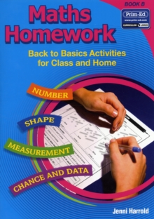 Maths Homework : Back to Basics Activities for Class and Home Bk. B, Paperback Book