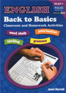 English Homework : Back to Basics Activities for Class and Home Bk. F, Paperback Book