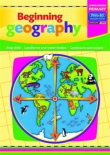 Beginning Geography : Map Skills - Landforms and Waterbodies - Continents and Oceans, Copymasters Book