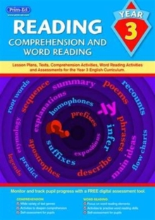 Reading - Comprehension and Word Reading : Lesson Plans, Texts, Comprehension Activities, Word Reading Activities and Assessments for the Year 3 English Curriculum No. 3, Copymasters Book