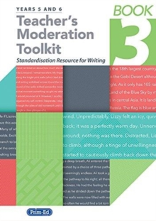 TEACHER'S MODERATION TOOLKIT BOOK THREE,  Book