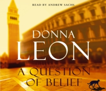 A Question of Belief : (Brunetti 19), CD-Audio Book