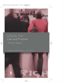 Equal Pay : Law and Practice, Hardback Book