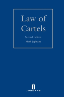 Law of Cartels, Hardback Book