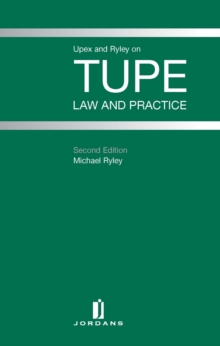TUPE : Law and Practice, Hardback Book