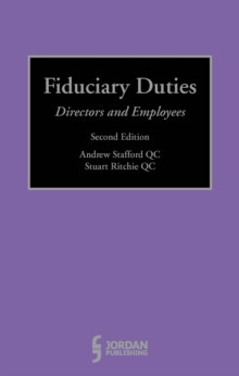 Fiduciary Duties, Hardback Book