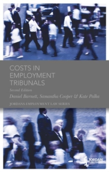 Costs in Employment Tribunals, Hardback Book