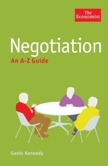 The Economist: Negotiation: An A-Z Guide, Paperback / softback Book