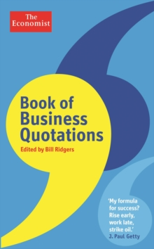 The Economist Book of Business Quotations, Hardback Book