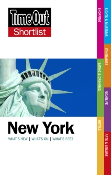 Time Out New York Shortlist, Paperback Book