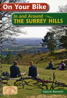 On Your Bike in the Surrey Hills, Spiral bound Book