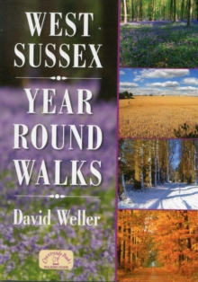 West Sussex Year Round Walks, Paperback Book