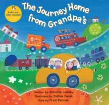 The Journey Home from Grandpa's, Mixed media product Book
