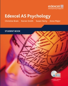 Edexcel AS Psychology Student Book + ActiveBook with CDROM, Mixed media product Book