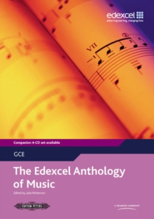 The Edexcel A Level Music Anthology, Paperback Book