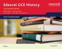 Edexcel GCE History A2 Unit 4 Coursework Book, Spiral bound Book