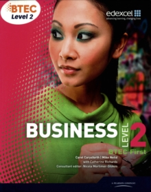BTEC First Business Student Book, Paperback Book