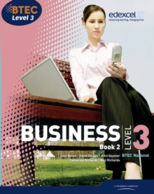 BTEC Level 3 National Business Student Book 2, Paperback Book
