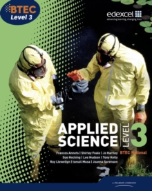 BTEC Level 3 National Applied Science Student Book, Paperback Book