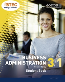 Business Administration : BTEC Entry 3 Level 1, Paperback Book