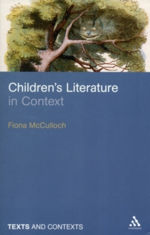 Children's Literature in Context, Paperback Book
