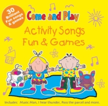 Come and Play : Activity Songs/Fun and Games, CD-Audio Book