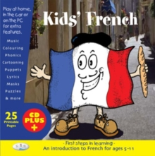 Kids' French : First Steps in Learning, CD-Extra Book