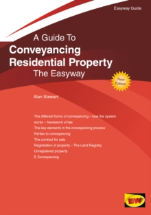 Conveyancing Residential Property : The Easyway, Paperback / softback Book