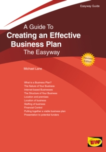 Creating An Effective Business Plan : The Easyway, Paperback Book