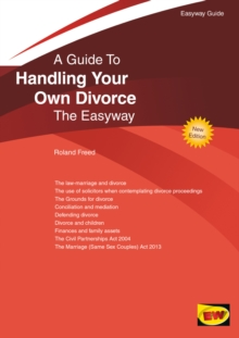 Handling Your Own Divorce : The Easyway, Paperback Book