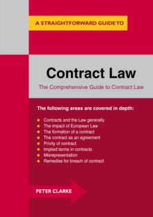 Contract Law : A Straightforward Guide, Paperback Book