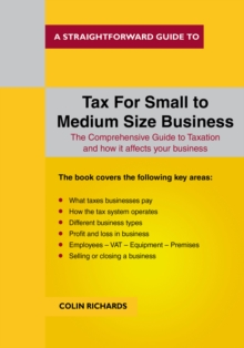 Tax for Small to Medium Size Business, Paperback Book