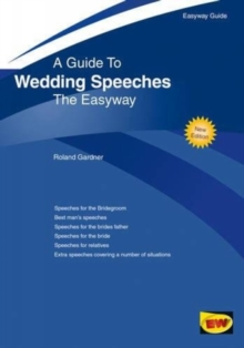 Wedding Speeches, Paperback Book
