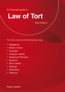 Law Of Tort, Paperback / softback Book