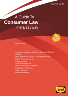 Guide To Consumer Law, Paperback Book