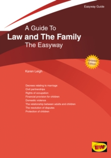 The Easyway Guide To Law And The Family, Paperback Book