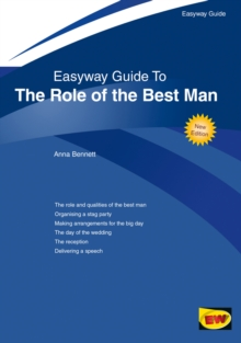 Easyway Guide To The Role Of The Best Man : Revised Edition 2018, Paperback / softback Book
