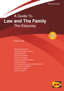 A Guide To Law And The Family : The Easyway. Revised Edition 2020, Paperback / softback Book