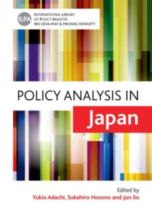 Policy Analysis in Japan, Hardback Book