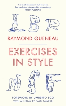 Exercises in Style, Paperback Book