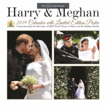 HARRY & MEGHAN COMMEMORATING MARRIAGE 19,  Book