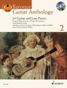 Baroque Guitar Anthology 2  - 25 Guitar and Lute Pieces, Mixed media product Book